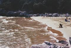 Circeo (Sofia Podest) Tags: sea people italy beach childhood 35mm fun seaside spring sand san play sofia analogue agfa felice silette circeo podest zobeide