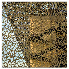 MuCEM, Marseille (me*voil - away) Tags: abstract lines wall museum facade marseille lace filigreed mucem