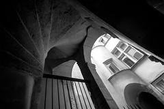 IMG_1863.jpg (Bri74) Tags: bw france architecture stair lyon traboule tourrose