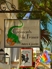 Key West - Croissants de France (nebulous 1) Tags: food breakfast restaurant nikon colorful florida keywest nebulous1 croissantsdefrance