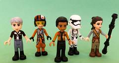 In A Galaxy Like Reeeeeally Faraway (Melan-E) Tags: friends starwars lego minifigure afol minidolls legography maynifigure