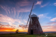 Halnaker Windmill 6281 (simply-landscapes.co.uk) Tags: park blue sunset summer windmill clouds canon out walking outdoors sussex countryside walks picnic country windmills canvas adventure national lee trust about local filters cloudporn 6d halnaker