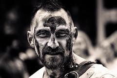 zombie portrait (fat-freddies-cat 3 million views) Tags: street zombie birminghamengland zombiewalk