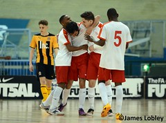 Genesis Futsal 8-1 Cambridge United (KickOffMedia) Tags: cambridge england game sports senior loss sport club ball manchester stand football goal referee shoot play shot post kick stadium soccer united north atmosphere ground player staff points match pitch kickoff fans draw manager northern genesis fc score spectator league midfielder supporters grassroots striker futsal defender skill goalkeeper keeper stadia nonleague linesman manchesterfootball