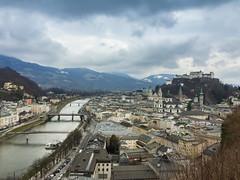 Salzburg dunkle Wolken