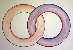 20160104a (regolo54) Tags: circle twins pattern handmade geometry mandala structure symmetry disk torus escher compass touche regolo54