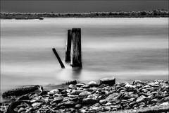 VI (vedebe) Tags: bw monochrome port eau long exposure noiretblanc nb rue ports paysages urbain abandonn poselongue netb