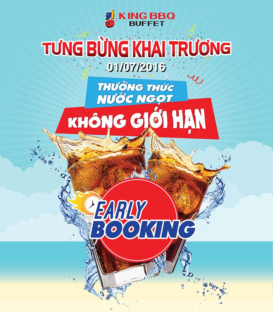 Khai trương KingBBQ Buffet Aeon Mall Bình Tân