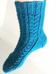 20160630_100110 (Knititchings) Tags: socks fo cabled