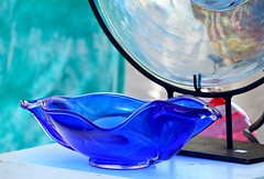 58. Fragile - 116 pictures in 2016 (Krasivaya Liza) Tags: park blue atlanta glass festival ga georgia photography photo nikon teal group arts bowl fragile challenge 58 yearly oldfourthward 116picturesin2016 116pictures the116