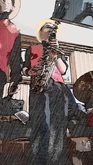 20160606_143353 (Downtown Dixieland Band) Tags: ireland music festival fun jazz swing latin funk limerick dixieland doonbeg