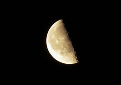 My First moon (Vanessa J. Williams) Tags: moon newyork black night canon dark zoom background nightime astrophotography amateur astrology canont3i