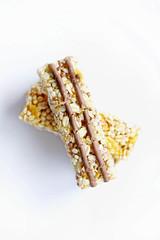 Msli Riegel (wuestenigel) Tags: mueslibars chocolatemueslibar dessert muesli healthylife healthyfood