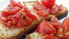 semplicemente... (carlo612001) Tags: red food tomato bread slowfood pane rosso pomodoro italianfood mediterranea semplice semplicemente