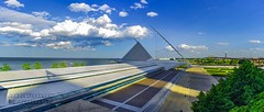 Milwaukee Art Museum Near Sunset - June 2016 (House of Geekdom) Tags: panorama lake art lines museum wisconsin architecture skyscape spring michigan lakemichigan milwaukeeartmuseum milwaukee leading mke leadinglines architectureporn