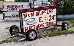 M&M Muffler (micro.burst) Tags: atlanta urban georgia storefronts lightroom oaklandcity pentaxk3