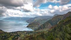 Lake Toba (muhammadhilmi.harun) Tags: mountain lake indonesia landscape volcano cloudy traveling volcanic toba danau sumatera