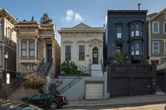 Victorian Houses at Noe Valley, San Francisco, California, USA (takasphoto.com) Tags: 2870 d600 fullframe lens nikkor nikkor2870mmf28d nikkor2870mmf28dedifafszoomlens nikon nikond600 professionallens