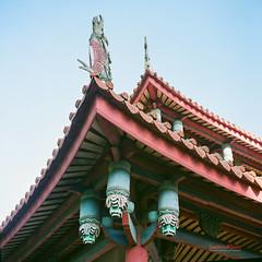 Roofs (風傳影像 SUNRISE@DAWN photography) Tags: 6x6 film square medium format rolleiflex35fplanar carlzeissplanar3575 fujicolorpro160ns