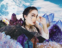Summer Vibes (jenabhone) Tags: cactus selfportrait mountains collage photoshop photography petals crystals desert crystal vibrant hipster hippie coachella poison boho gypsy bohemian jenabhone jenbhone petalsandpoison petalspoison