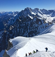 Climber's Delight (thaddeusces) Tags: travel france mountains nature danger adventure climbing alpine highaltitude mountainrange