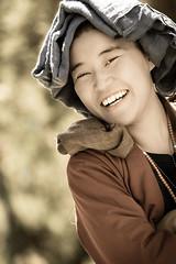 Nonne a Chimpuk Tibet (Proverich) Tags: china woman asia buddhist femme buddhism nun tibet monastery asie chine nonne bouddhiste chimpuk
