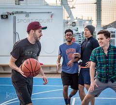 Basketball-Jlombard (joshualombard) Tags: sunset water basketball port croatia cruiseship hr dubrovnik oldcity dubrovakoneretvanskaupanija dubrovakoneretvanskaupanij