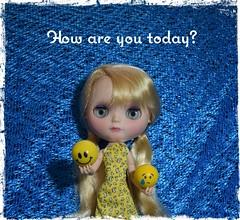 Como est voc hoje? (gomides1) Tags: blythe emoticons