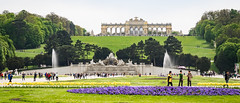 Gloriette -  Fountain Neptune - Park - Shnbrunn Palace - Vienna (Rita Willaert) Tags: schnbrunn vienna wien fountain oostenrijk palace van neptune elisabeth sissi gloriette wenen 1837 1898 koningin hongarije schnbrunnpalace beieren at keizerin fountainneptune elisabethvanbeieren18371898 koninginhongarije keizerinoostenrijk