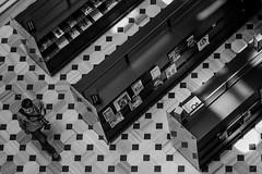 Library walker (decafeined) Tags: photography workshop fujifilm beyoglu galata 56mm saltgalata