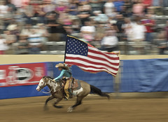 Lexington Rodeo (A  Train) Tags: rodeo nikond750 slowshutterspeed blur flag america horse lexingtonkentucky movement panning americanflag nikon explore justin boots justinboots
