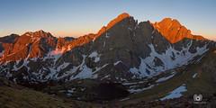 IMG_6986-Pano (lucmacarthur) Tags: mountains outdoors colorado hiking backcountry 14er alpenglow mountainshadow mountainsunrise humboldtpeak southcolonylakes