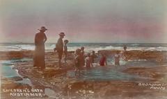 Childrens' baths Austinmer Beach undated [RAHS Photograph Collection] (Royal Australian Historical Society) Tags: rahs illawarra conference royal australian historical society childrensbathsaustinmer rockpools