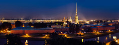 Peter & Paul's fortress (ponchikz) Tags: street city roof rooftop night cathedral russia postcard centre roofing spb whitenights neverstopexploring  saintp  ponchikzphotoz