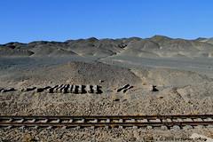 I_B_IMG_7462 (florian_grupp) Tags: china railroad train landscape asia mine desert muslim railway steam xinjiang mikado locomotive ore js steamlocomotive 282 opencastmine yamansu
