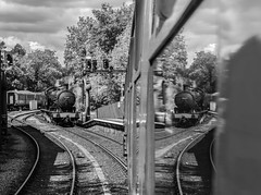 Reflective (Blaydon52C) Tags: ner nelpg nymr north yorkshire moors railway pickering grosmont goathland rail railways railfreight trains train transport locomotive locomotives loco steam engine engines lner eastern