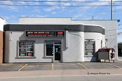 New Tin Shop Ltd Est 1935 (Gerald (Wayne) Prout) Tags: new ontario canada shop canon tin plumbing business heating 2ndavenue timmins 1935 northernontario prout airconditioning established canoneos60d ontarione cityoftimmins geraldwayneprout newtinshopltdest1935 sprucestreetsouth newtinshop