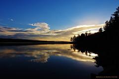 Stilla (MIKAEL82KARLSSON) Tags: sunset water natur vatten lugn grngesberg grnges norrahrken mikael82karlsson nikonp900