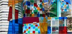 Le cube color du Centre Pompidou, Malaga, Andalucia, Espana (claude lina) Tags: claudelina espana spain espagne andalucia andalousie malaga architecture muse centrepompidoumalaga cube couleurs colors