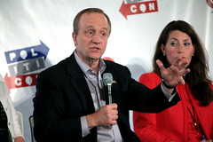 Paul Begala (Gage Skidmore) Tags: california paul michael center sally convention pasadena davis wendy joanne alison murphy begala 2016 grimes kohn bamber lundergan politicon