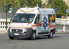 Fiat Ducato X250 P.A. Croce D'oro Sampierdarena (alessio2998) Tags: fiat genova doro croce 118 sampierdarena sanitario soccorso anpas ducato servizo x250 pubblicaassistenza