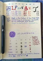 Alphabet & numbers (jaguarish) Tags: numbers alphabet rockyourhandwriting
