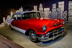 1956 Oldsmobile 98 sedan (The Adventurous Eye) Tags: classic car museum sedan czech 98 1956 veteran muzeum oldsmobile esk nov bystice veternsk
