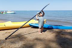 Paddleboard boy (stshank) Tags: adam lakehuron michigan portsanilac travel