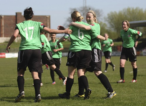 Lewes Ladies v West Ham 5 5 2013 6482