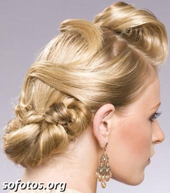 Penteados para noiva 135