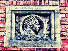 (JayCass84) Tags: street camera old urban brick beautiful stone architecture construction pittsburgh pennsylvania indian awesome mason masonry streetphotography mortar engraving pgh streetview urbanstreetphotography engrave urbanphotography 412 urbanfragment steelcity contruct instagram instagramapp