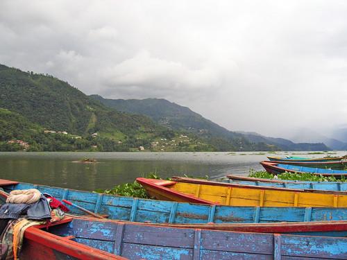 At the lake, Pokhara