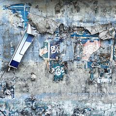 Peeling blue wall (Sallyrango) Tags: old abstract wall ancient asia peeling decay urbandecay srilanka peelingpaint galle urbanabstract gallefort derelictbuilding urbandetails