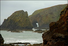 Sea arch (catb -) Tags: ireland sea cliff coast waterford seaarch